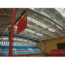 Сборная стальная конструкция Рама Крыша бассейна