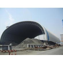 Space Frame Stahlkonstruktion Coal Shed Design und Bau