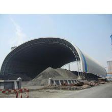Space Frame Steel Structure Coal Shed Design and Construction