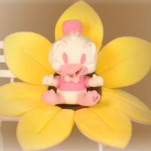 Brinquedo de veludo Pato Donald Rosa