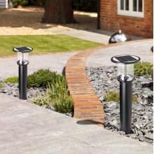 2015 lámpara solar de la calle de las luces del jardín de la luz solar más nueva de alta calidad más nueva