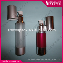plastic airless pump bottle and plastic bottle with pump dispenser