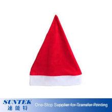 Sublimation Blank Christmas Decoration Santa Cap
