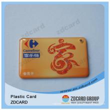 PVC/Pet Key Tag/Gift Card/Die Cut Gift Card
