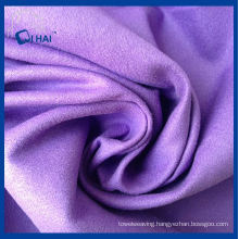 Purple Color Microfiber Suede Cloth (QHDA32657)