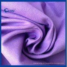 Pano de camurça de microfibra de cor roxa (qhda32657)
