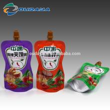 Flüssiger Saucenbeutel Flüssiger Ausguss-Verpackungsbeutel