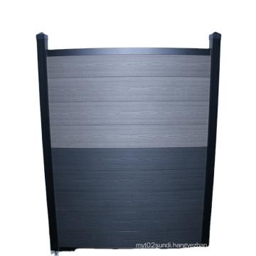 Wood Plastic Composite WPC Wood Fence