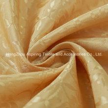 100% Polyester Satin Jacquard Vorhang Stoff