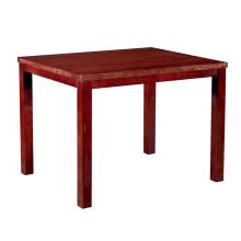 Mesa de comedor de hotel de mesa de restaurante de madera