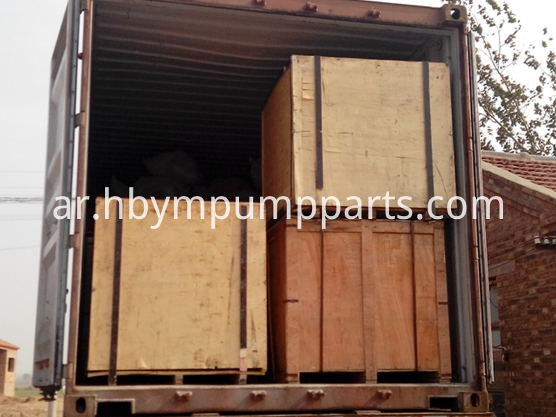 Concrete Pump Parts Load Container