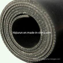 Tissu inséré naturel NR feuille de caoutchouc / Mat