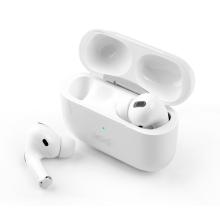 fones de ouvido bluetooth sem fio de potência no fone de ouvido