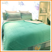 Heavy Weight Acrylic Polyester Knitted Blanket for Bedding