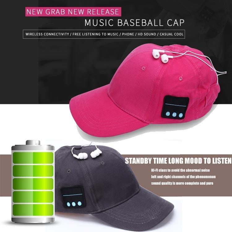baseball music cap