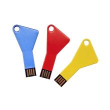 Cheap Key Shape Promotional Customized Logo Colorful USB Flash Pendrive