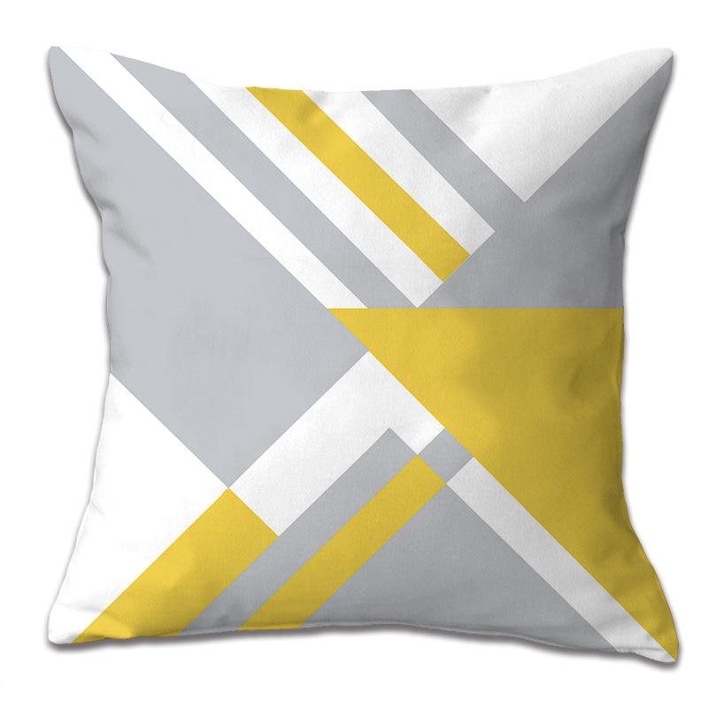 Yellow car cushion