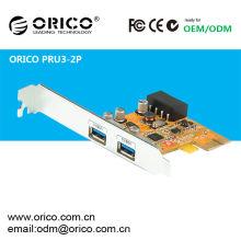 Desktop PCI-e 2ports USB3.0 Super Speed Express Card