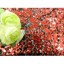 """POLY MESH WITH 5MM SEQUIN EMBROIDERY 50 52"""""""