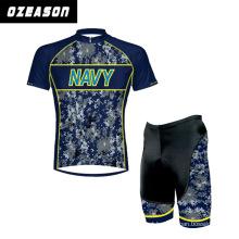 Wholesale Men′s Cycling Jerseys+Shorts Short Sleeve