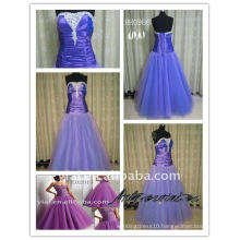 2011 new two-tone taffeta ladies fashionable real purple prom dress evening dress dress HH0986