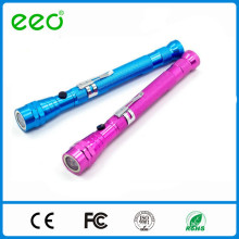 hot sale 3 LED telescopic flashlight with magnet telescopic magnetic pick-up tool