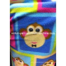 100% Poliéster Dois Lados Escovado Comefortable Polar Cobertor Cobertor