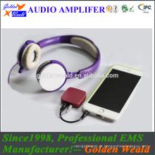 amplificador de baixo grande amplificador de auscultadores amplificador de bateria recarregável