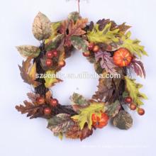 "20-24 ""Gourd Berry Floral Wreath Mixed Fall Wreath"