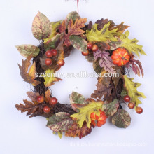 "20-24"" Gourd Berry Floral Wreath Mixed Fall Wreath"