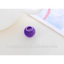 2016 hilado decoración alibaba co Reino Unido decorativos coloridos granos semilla cristal perlas con agujero utilizado para la fabricación de joyería de /DIY