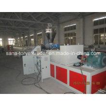 Plastic Extruder Machine PP-R Pipe Extrusion Line