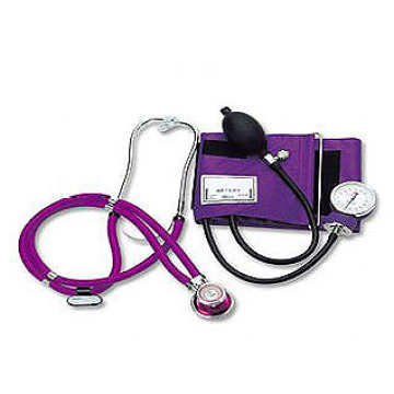 Aneroid Sphygmomanometer with rappaport stethoscope