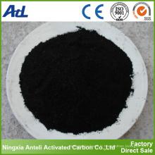 325 mesh purification de l'eau en poudre charbon actif
