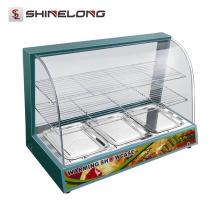 K564 3 Schichten Tischplatte elektrische Speisenwärmer
