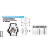 Simplex Wire Rope Clips Series for Marine Hardware