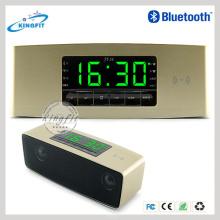 Alta qualidade relógio LED Andriod APP Control Bluetooth Speaker Made in China