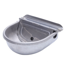 OEM deep drawn stainless steel galvanized steel drinking bowl for dogs / cow / piglets / rabbits / horse