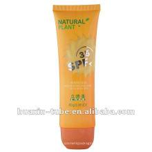 2017 personnalisé populaire tube cosmétique crème solaire vide à vendre