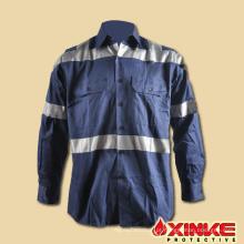 Vestuário de trabalho ao ar livre 100 algodão pesca camisas de proteção uv