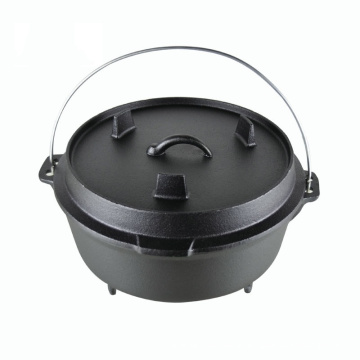 Camping Kitchenware Cast Iron Dutch Oven