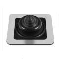 Bota de borracha BLACK SILICONE com base quadrada para piscar