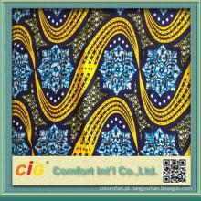 100% Cotton Real Africa Wax Fabrics