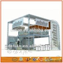 Shanghai Hersteller OEM moderne zwei Stock Messestand Design, Design Ausstellung Display-System