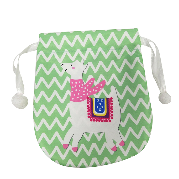 Portable Cute Llama Candy Bag