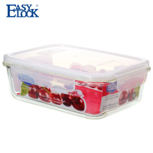 easy lock factory wholesale vacuum seal glass jars