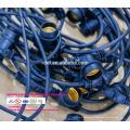 Outdoor-String-Lichter Set Commercial Edison Strang Beleuchtung-48ft Heavy Duty Cord 18 Sockets 21 Glühbirnen (UL