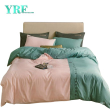 Hot Sale Cottage Luxury Multi Color Cheap Price Polyester Fabric Bed Sheet Set