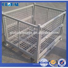 Горячие продаем складные и stackable контейнер ячеистой сети