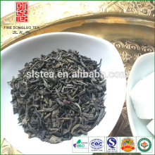 The large tea factory supplied green tea types